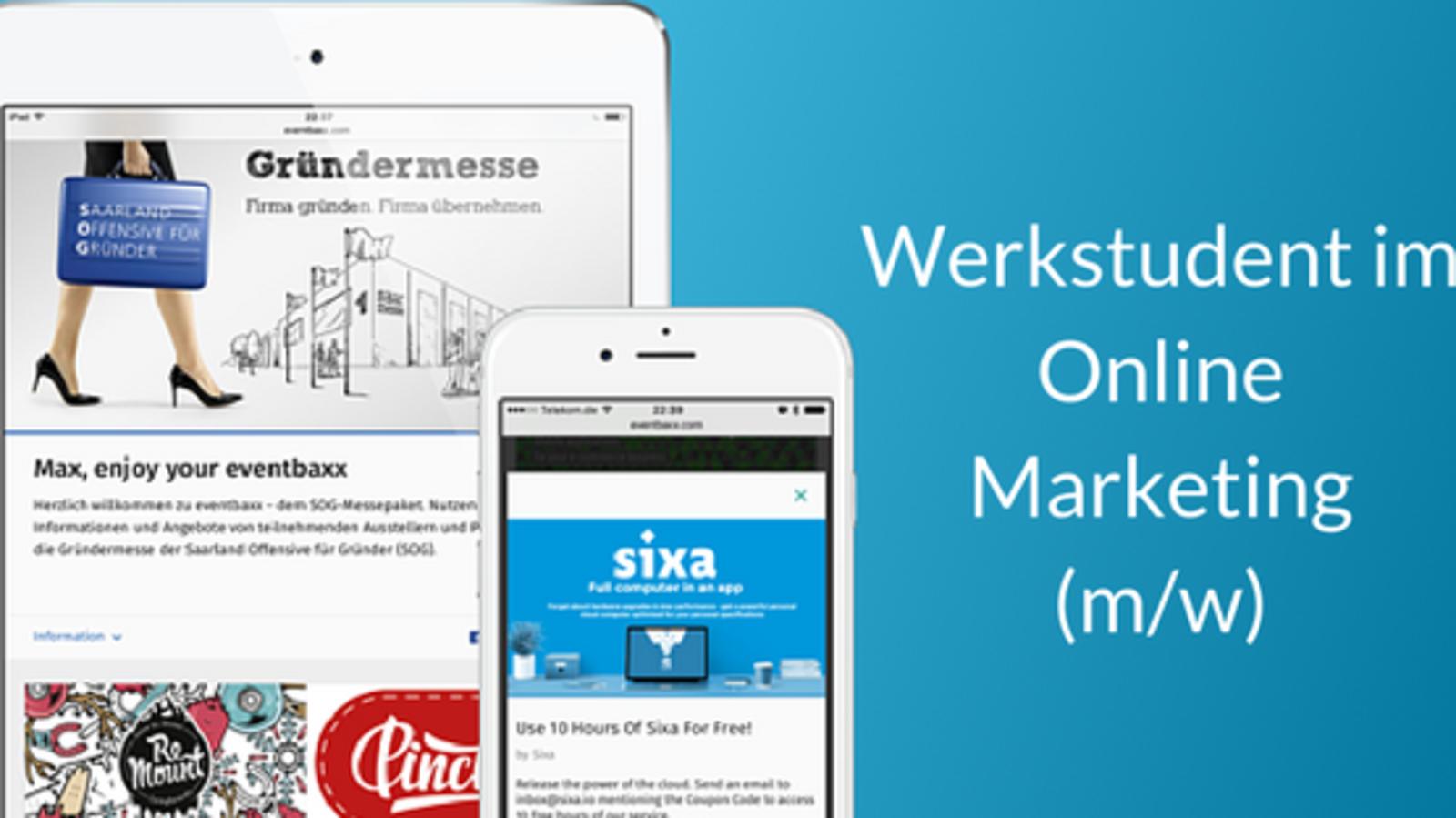 Werkstudent Online Marketing (m/w)