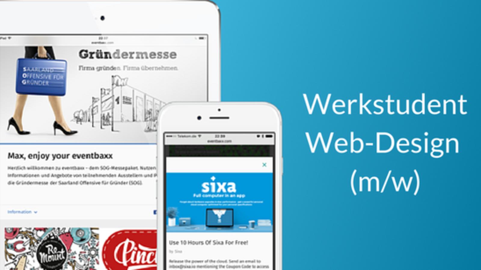 Werkstudent Web-Design (m/w)