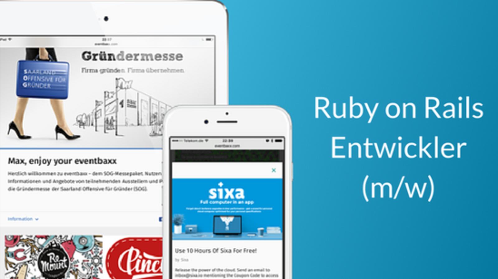 Ruby on Rails Entwickler (m/w)